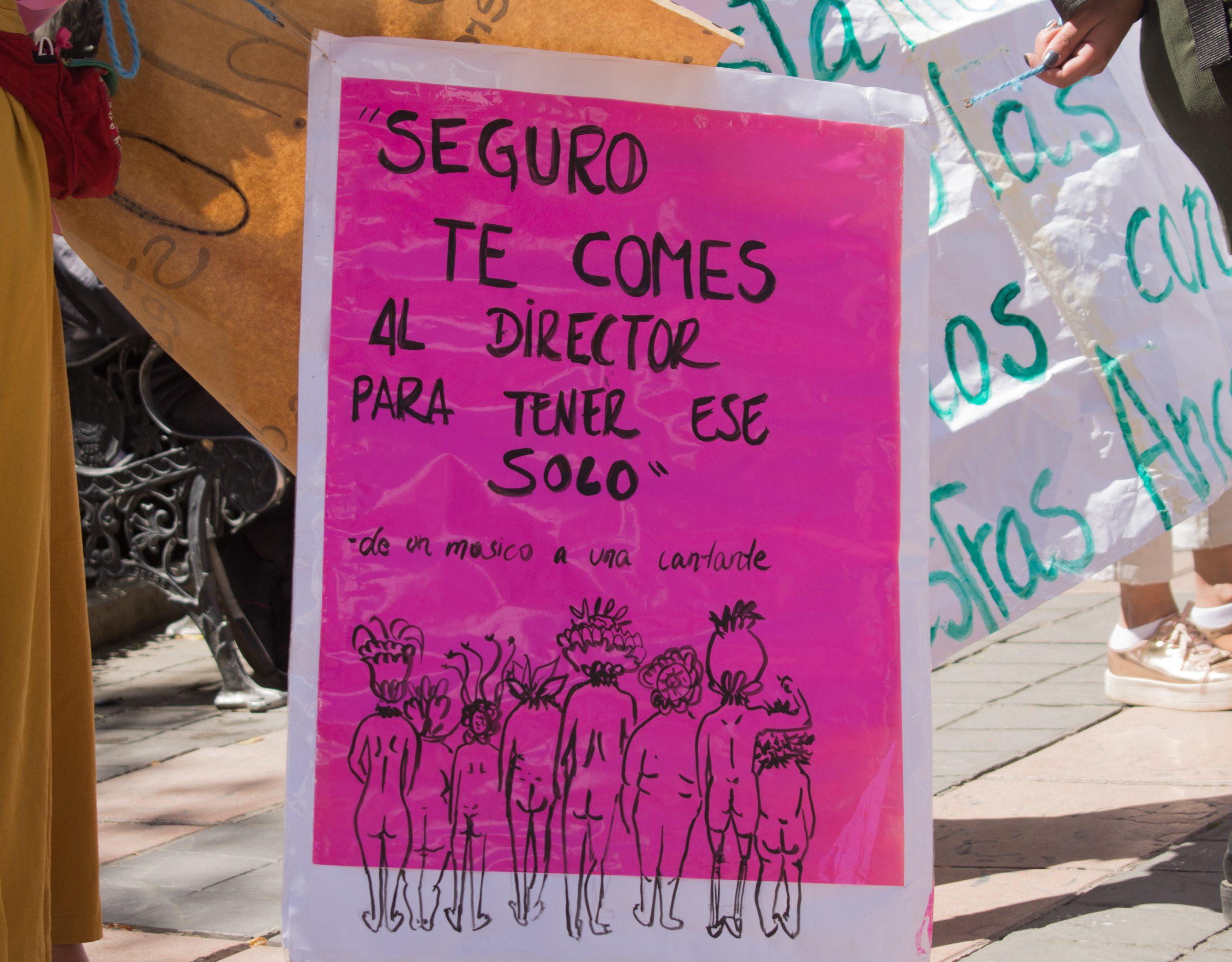 El acoso y menosprecio atacan a las artistas bolivianas