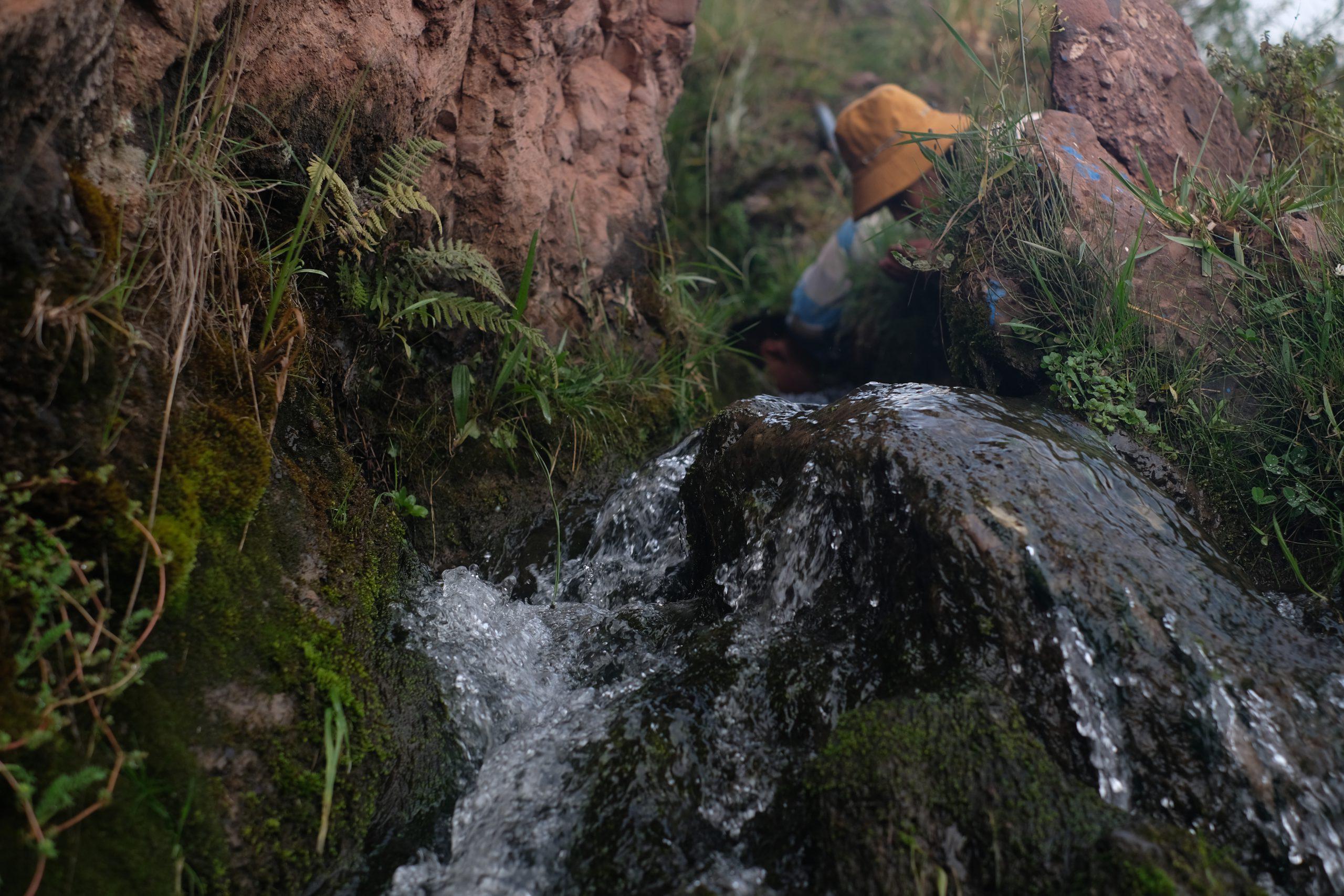 Agricultores del Illimani, afectados por el cambio climático